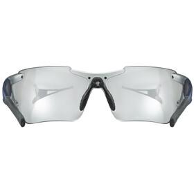 UVEX Sportstyle 803 Race VM Lunettes de sport, silver blue metallic/litemirror silver